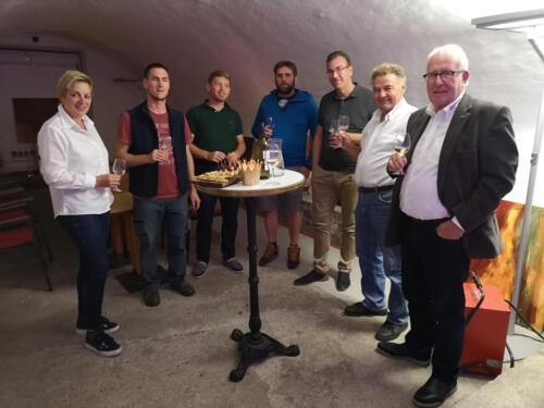 19 Ehrenmitgliedsessen mit Klaus Beer